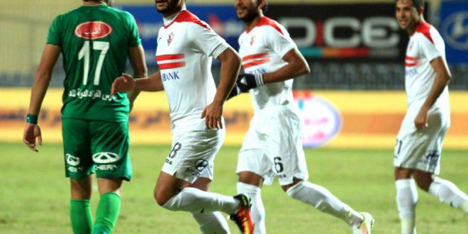 باسم مرسي يقود هجوم الزمالك أمام الشرقية
