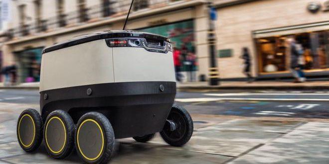 """""""هيرمس"""" للشحن تبدأ تجارب الاستعانة بأجهزة روبوت موجهة في لندن"""