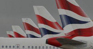 الخطوط البريطانية تلغي جميع رحلاتها