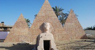 الحضارة المصرية على أرض غزة