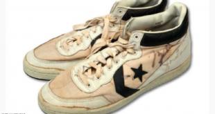 حذاء مايكل جوردان يحطم الأرقام القياسية