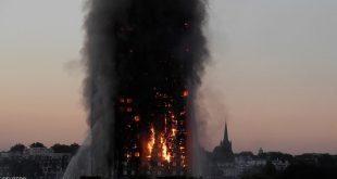 استقالة مسؤول محلي على خلفية حريق لندن