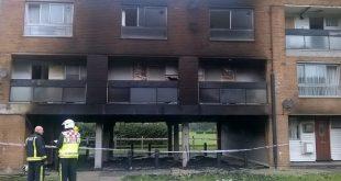 """حريق يلتهم شقق في """"نورثولت"""" غرب لندن"""