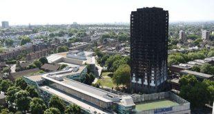 """أخيراً ستتم تغطية برج """"غرينفيل"""" المحترق ولكن متى؟"""