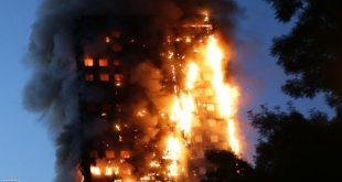 تكرار حرائق المباني يثير القلق بشأن الطلاء الخارجي