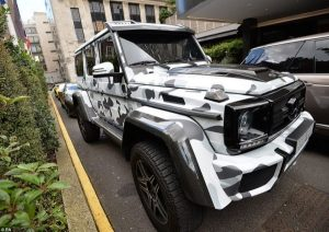 بالصور:موسم سيارات الخليج الفاخرة في لندن