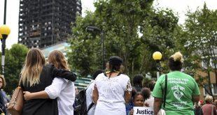  تسليم  8 مليون جنيه استرليني تبرعات إلى الناجين من حريق برج غرينفيل