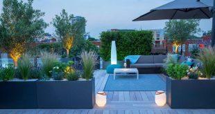 تعرف على أجمل سطح منزل في لندن حيث الهواء الطلق نهارًا والسهر ليلًا