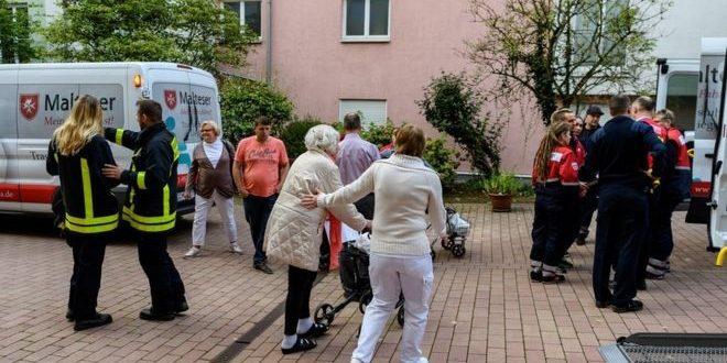 إجلاء آلاف السكان بمدينة فرانكفورت الألمانية بسبب؟