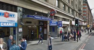 وفاة شخص بعد دهسه بقطار في محطة ماربل آرتش وسط لندن