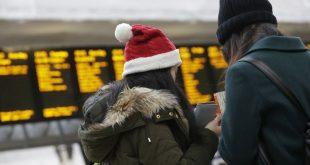لماذا تحتاج لحجز تذكرة قطار إجازة الكريسماس اليوم؟