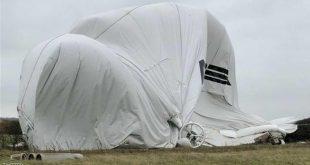 تحطم أضخم طائرة بالعالم في بريطانيا