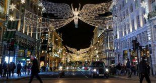لندن في موسم العطلات... شوارع مضيئة وواجهات محلات متنافسة