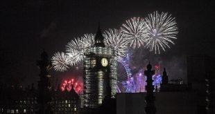 بالصور: لندن تستقبل العام الجديد بأجراس «بيج بن»