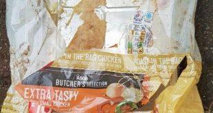 امرأة تتعرض لصدمة بعد شرائها دجاجة متعفنة من متجر أسدا