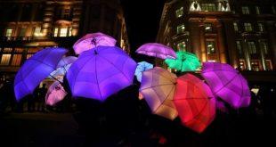 """صور.. انطلاق مهرجان """"الأضواء المبهرة"""" في لندن"""