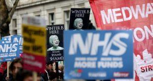 مظاهرات في لندن تدعو لإصلاح أزمة نظام الرعاية الصحية NHS