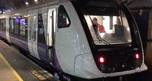 بالصور: إطلاق تجربة أول القطارات على خط إليزابيث Elizabeth الجديد في لندن