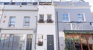 منزل في غرب لندن يعرض للبيع بسعر مليون جنيه استرليني رغم انخفاض أسعار المنازل