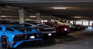 بالصور: مجموعة سيارات فاخرة يبلغ سعرها 3.5 مليون جنيه استرليني مخبأة في موقف سيارات دون استخدام في لندن