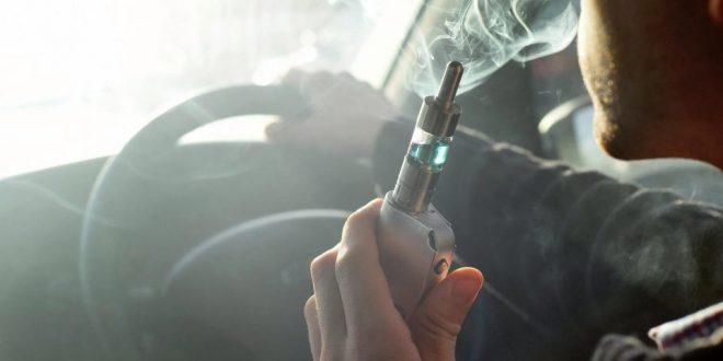 عقوبات صارمة للسائقين الذين يدخنون السجائر الإلكترونية أثناء القيادة
