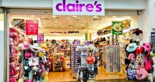 شركة كليرز للإكسسوارات Claire's Accessories على حافة الإفلاس بسبب الديون المتراكمة