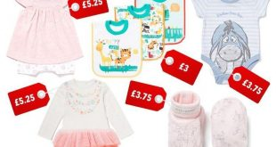 سينسبري Sainsbury تطلق تخفيضات على ملابس الأطفال