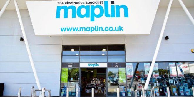 """MAPLIN"" تقدم خصومات هائلة على بضائعها قبل إغلاق جميع متاجرها في المملكة المتحدة"