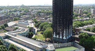 الحكومة تدرس حظر استخدام المواد القابلة للاشتعال في أنظمة الإكساء للأبراج بالمملكة المتحدة