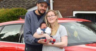 تغريم رجل مبلغ 2.500£ للقيادة بسرعة كبيرة أثناء توصيل زوجته التي تعاني من آلام الولادة إلى المستشفى