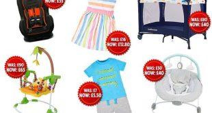"""""""ماذر كير"""" تطلق خصم 50% على منتجاتها من الملابس وعربات الأطفال ومقاعد السيارات"""