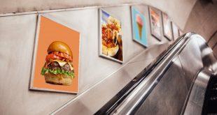 لندن تتصدى للوجبات السريعة في النقل العام