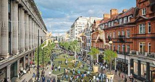 شارع أكسفورد يكسر حد التلوث بمستويات غير قانونية من الهواء السام في 127 يوماً هذا العام