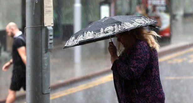 توقعات بهطول أمطار غزيرة على المملكة المتحدة في نهاية موجة الصيف الحارة