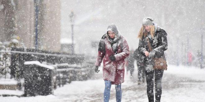 سحابة ثلجية أوروبية تتسبب في هطول أمطار غزيرة على بريطانيا
