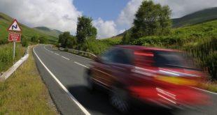حظر سائق من القيادة على الطرق لمدة 3 سنوات بسبب القيادة بسرعة كبيرة!!