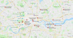 خرائط غوغل تعرض لك الآن أماكن محطات شحن السيارات الكهربائية