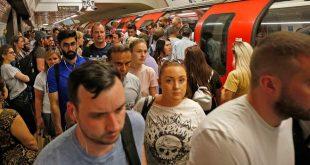 آلاف الأشخاص يتعرضون للإغماء داخل قطارات الأندرغراوند في لندن