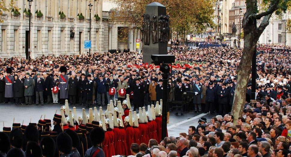 الاحتفال بالذكرى المئوية لنهاية الحرب العالمية الأولى في المملكة المتحدة
