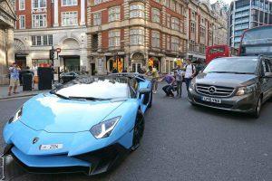 دراسة: لندن موطن السيارات الفارهة في العالم !!