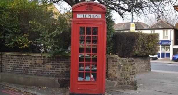 تعرّف على أصغر مكتبة في لندن