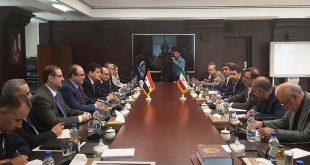 وفد سوري في طهران لتعزيز العلاقات الاقتصادية