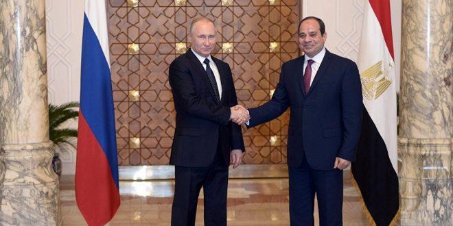 إنشاء منطقة صناعية روسية في مصر
