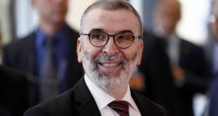 ليام فوكس ومصطفى صنع الله يبحثان سبل التعاون التجاري بين بريطانيا وليبيا
