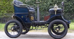 بالصور: عمرها 118 سنة.. أقدم سيارة في بريطانيا معروضة للبيع