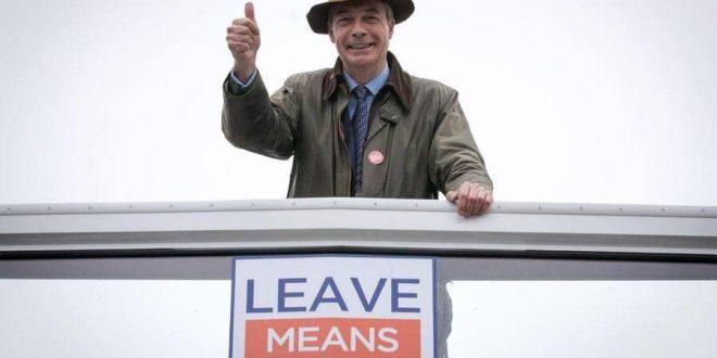 حزب بريكست يتقدم في نتائج استطلاع الانتخابات الأوروبية