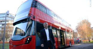لندن تقدم أول باص في العالم يعمل بالهيدروجين