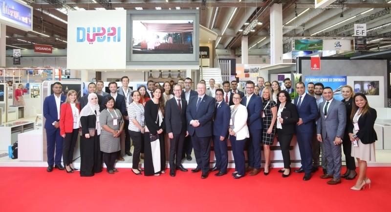 """دبي تؤكد أنها وجهة عالمية لإقامة فعاليات الأعمال في معرض """"إيمكس"""" في ألمانيا"""