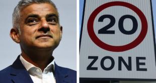 """عمدة لندن يريد إدخال حدود جديدة للسرعة """"20 ميلاً في الساعة"""" في غرب ووسط المدينة"""