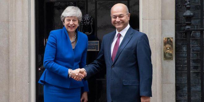 الرئيس العراقي يزور لندن لتعزيز التعاون السياسي والتجاري